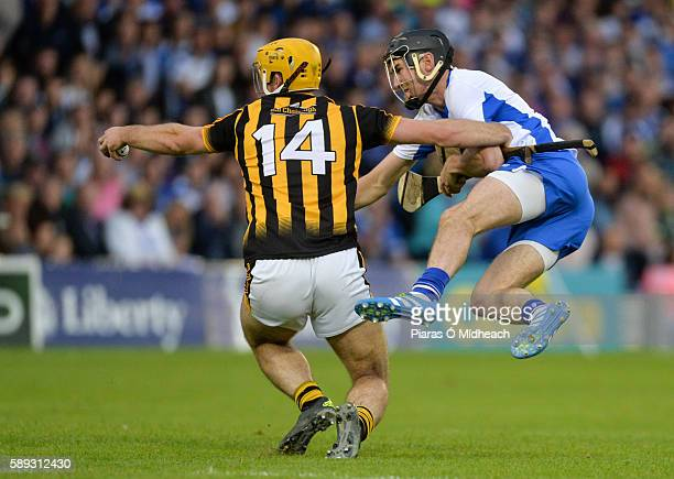 Thurles Ireland 13 August 2016 Colin Fennelly of Kilkenny in action against Barry Coughlan of Waterford during the GAA Hurling AllIreland Senior...