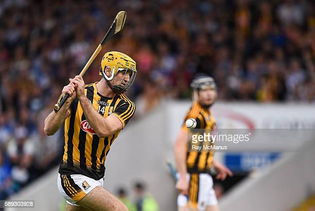 Thurles Ireland 13 August 2016 Colin Fennelly of Kilkenny scores his side's second goal against Waterford during the GAA Hurling AllIreland Senior...