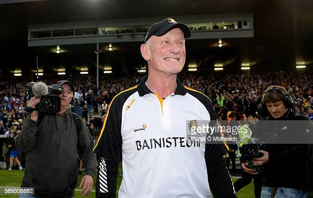 Thurles Ireland 13 August 2016 Kilkenny manager Brian Cody after the final whistle at the GAA Hurling AllIreland Senior Championship SemiFinal Replay...