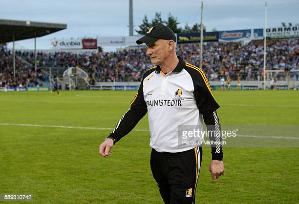 Thurles Ireland 13 August 2016 Kilkenny manager Brian Cody during the closing stages of the GAA Hurling AllIreland Senior Championship SemiFinal...