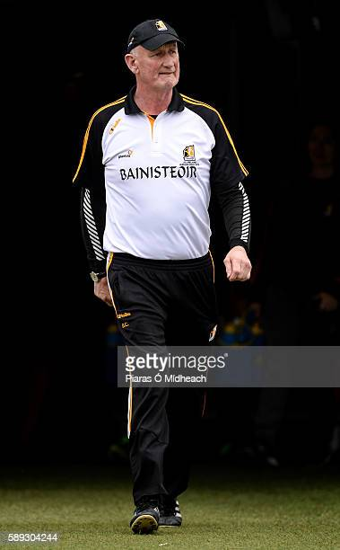 Thurles Ireland 13 August 2016 Kilkenny manager Brian Cody prior to the GAA Hurling AllIreland Senior Championship SemiFinal Replay game between...
