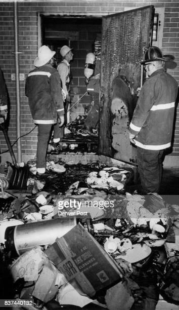 JUL 12 1973 JUL 13 1973 Thursday Fire Marshal Joe Michaelson said the cause of the fire confined mostly to the storage area was being investigated...