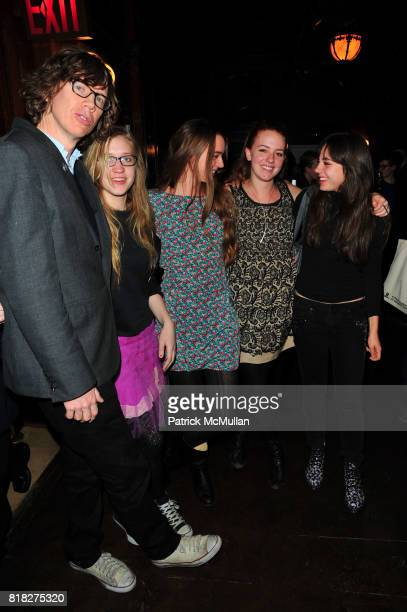 Thurston Moore and guests attend Quicktake Rodarte Opening cocktail party sponsored by Nordstrom and Vogue at Cooper Hewitt Museum on February 18...