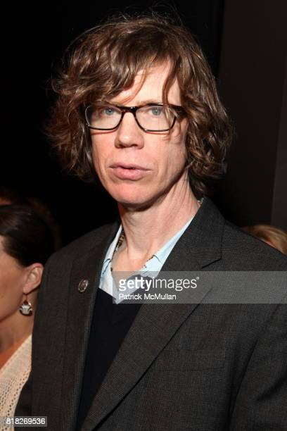 Thurston Moore attends QUICKTAKERODARTE Opening Cocktail Party Sponsored by Nordstrom and Vogue at CooperHewitt Museum on February 18 2010 in New...