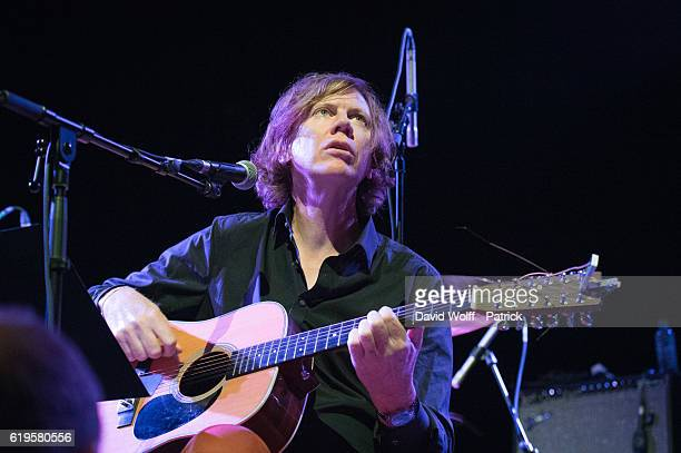 Thurston Moore opens for Dinosaur Jr at Elysee Montmartre on October 31 2016 in Paris France
