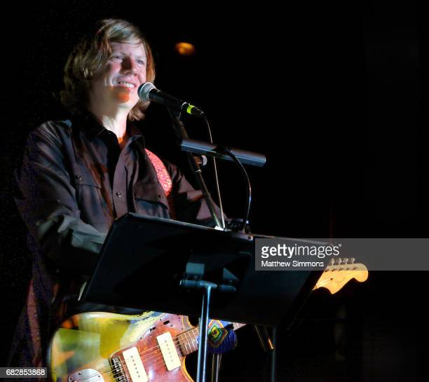Thurston Moore performs onstage at Teragram Ballroom on May 13 2017 in Los Angeles California
