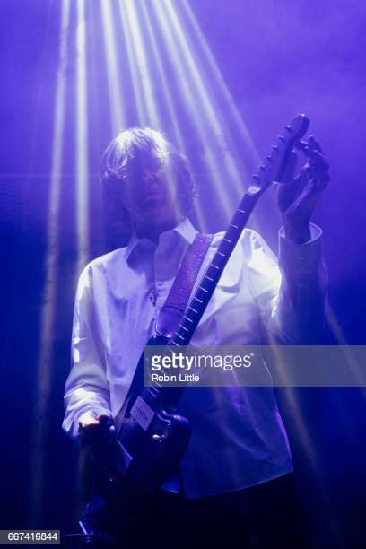 Thurston Moore performs with Blacktop at The Jazz Cafe on April 11 2017 in London United Kingdom