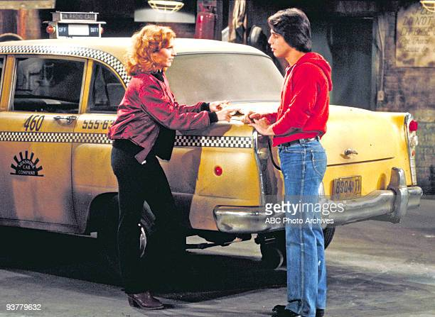 TAXI 'Thy Boss' Wife' Season Three 2/12/81 The owners of the Sunshine Cab Company quarreled among themselves Marilu Henner and Tony Danza starred