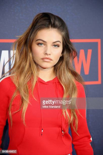 Thylane Blondeau attends the Tommy Hilfiger TOMMYNOW Fall 2017 Show during London Fashion Week September 2017 at the Roundhouse on September 19 2017...