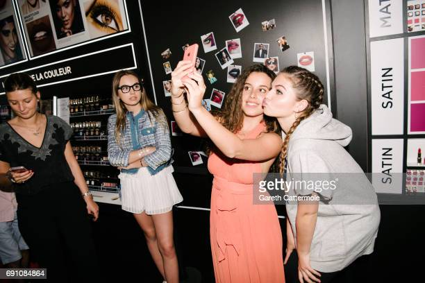 Thylane Blondeau meets fans at the L'Oreal Paris Beach Studio during the 70th annual Cannes Film Festival on May 19 2017 in Cannes France
