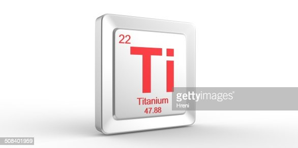 chemical element and titanium Titanium is a chemical element with the element symbol ti and the order number 22 it is among the transition metals and is in the periodic table in the 4th subgroup (group 4) or titanium group.