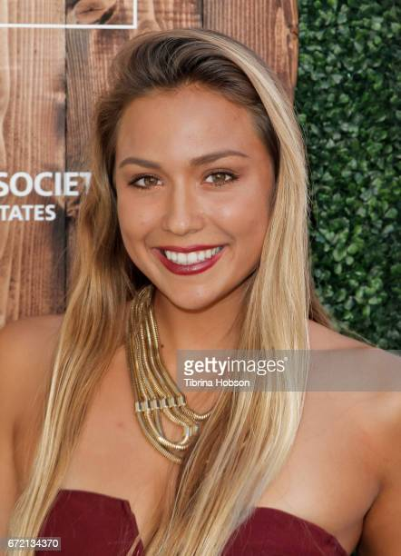 Tia Blanco attends the Humane Society's annual 'To The Rescue' Gala on April 22 2017 in Los Angeles California