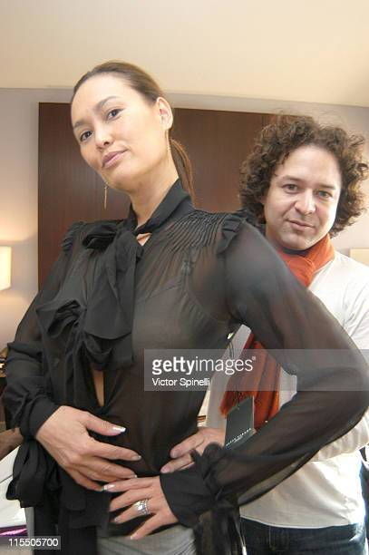 Tia Carrere and Alvin Valley during Alvin Valley Suite at the W Hotel Day 1 at W Hotel in Westwood California United States