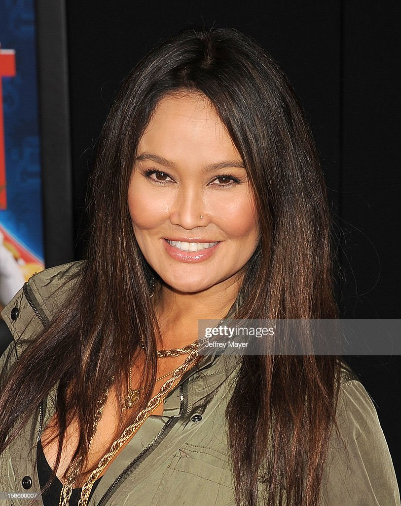 Tia Carrere arrives at the Los Angeles premiere of 'Wreck-It Ralph' at the El Capitan Theatre on October 29, 2012 in Hollywood, California.