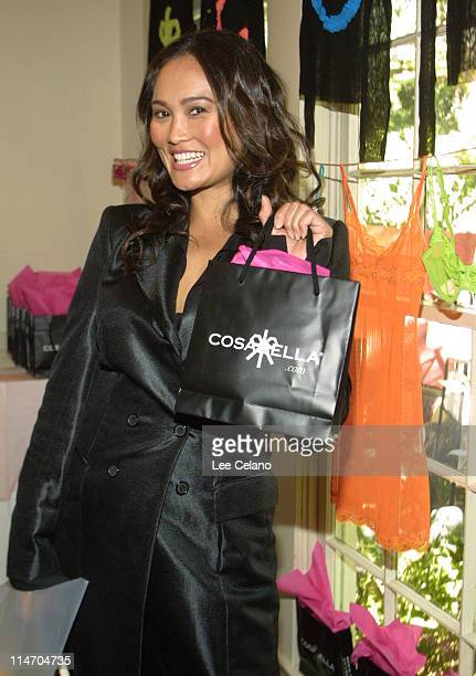 Tia Carrere at Cosabella during the Cabana Beauty Buffet at the Chateau Marmot Hotel in West Hollywood Calif The Cabana Beauty Buffet provides...