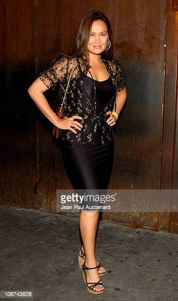 Tia Carrere at the Karaoke Revolution hosted by the Elizabeth Glaser Pediatric AIDS Foundation