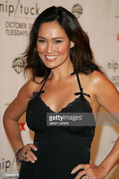Tia Carrere at the Season 5 Premiere of Nip/Tuck on October 20 2007