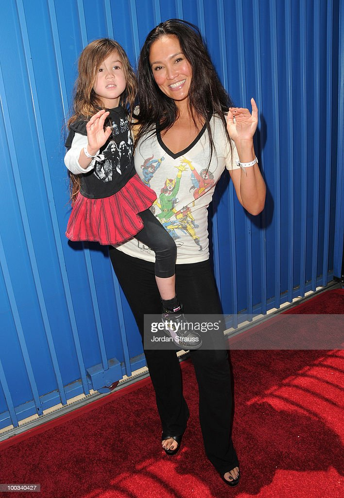 Tia Carrere attends Rob Dyrdek Foundation SK8 4 Life Benefit Presented by Panasonic & Carl's Jr at Fantasy Factory on May 22, 2010 in Los Angeles, California.