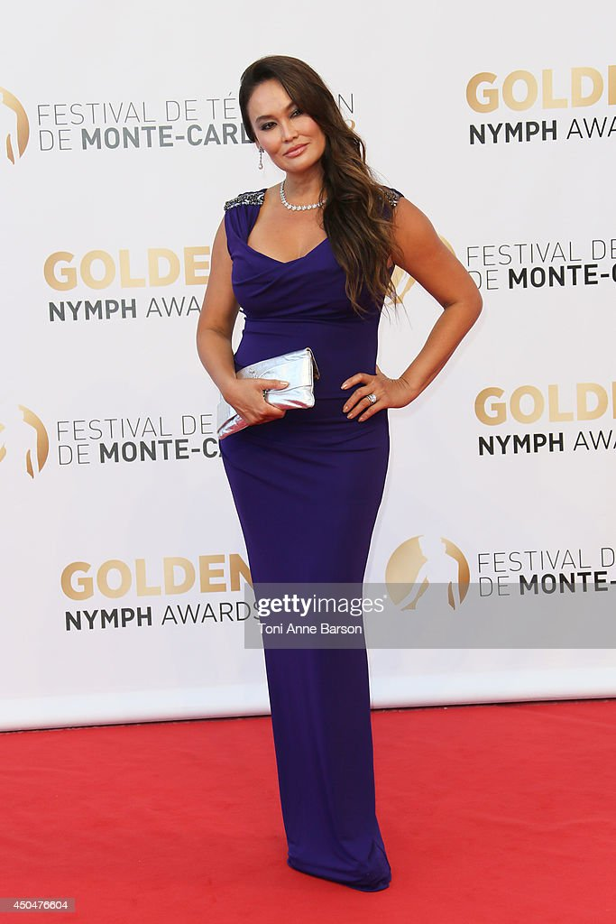 Tia Carrere attends the Closing Ceremony and Golden Nymph Awards of the 54th Monte Carlo TV Festival on June 11, 2014 in Monte-Carlo, Monaco.
