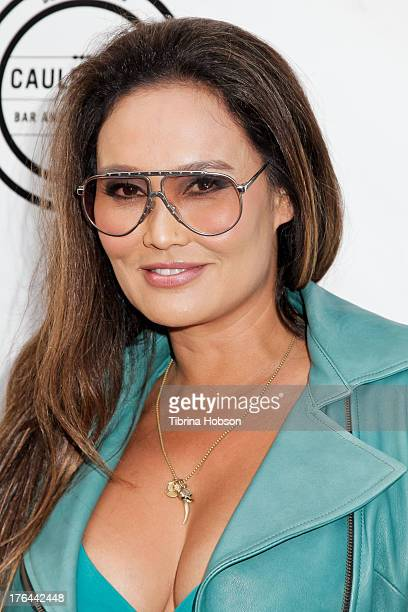 Tia Carrere attends the 'Gutshot Straight' Los Angeles premiere at Zanuck Theater at 20th Century Fox Lot on August 12 2013 in Los Angeles California