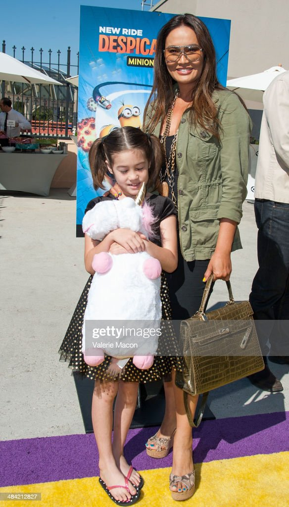 Tia Carrere attends Universal Studios Hollywood Celebrates The Premiere Of New 3D Ultra HD digital Animation Adventure 'Despicable Me Minion Mayhem' at Universal Studios Hollywood on April 11, 2014 in Universal City, California.