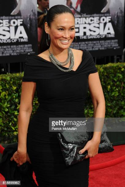 Tia Carrere attends Walt Disney Pictures Presents 'Prince Of Persia The Sands Of Time' Los Angeles Premiere at Grauman's Chinese Theatre on May 17...