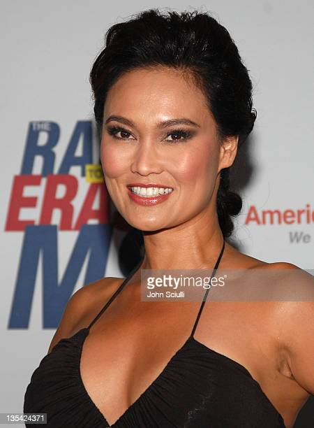 Tia Carrere during 14th Annual Race to Erase MS Themed 'Dance to Erase MS' Arrivals at Hyatt Regency Century Plaza in Century City California United...