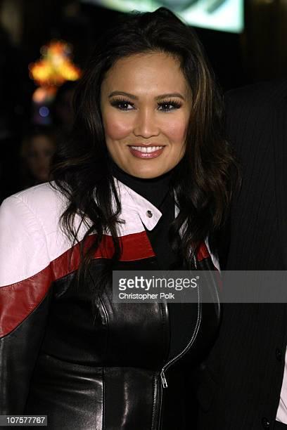 Tia Carrere during 2002 Fox Billboard Bash Arrivals at Studio 54 inside MGM Grand Casino in Las Vegas NV