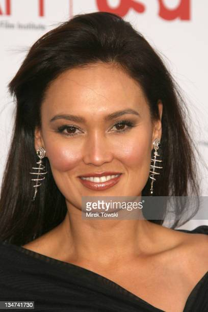 Tia Carrere during 34th AFI Life Achievement Award to Sir Sean Connery at Kodak Theater in Los Angeles CA United States