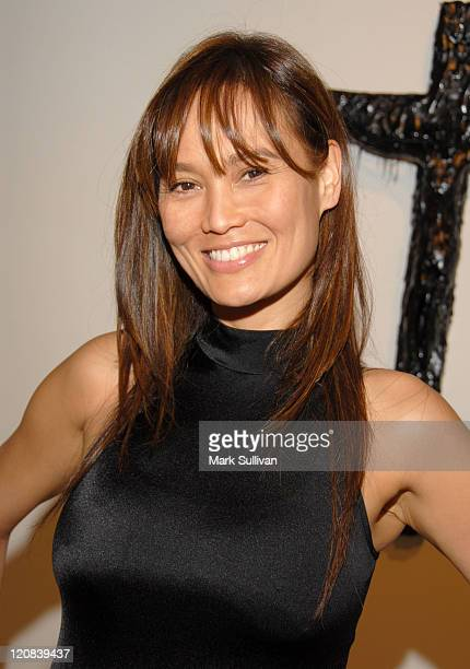 Tia Carrere during Debut of 'Christ in Tar' at Mattia Biagi's 'The House in Tar' Exhibition March 30 2006 at Twentieth Gallery in Los Angeles...