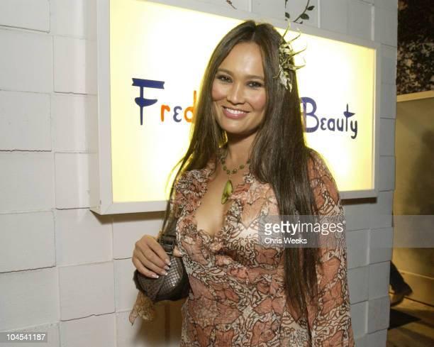 Tia Carrere during Fred Segal Beauty Salon Spa Launch Party at Fred Segal Beauty Salon Spa in Santa Monica California United States