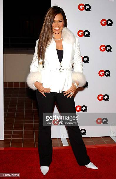 Tia Carrere during GQ Magazine 2004 NBA AllStar Party Arrivals at Astra West in West Hollywood California United States