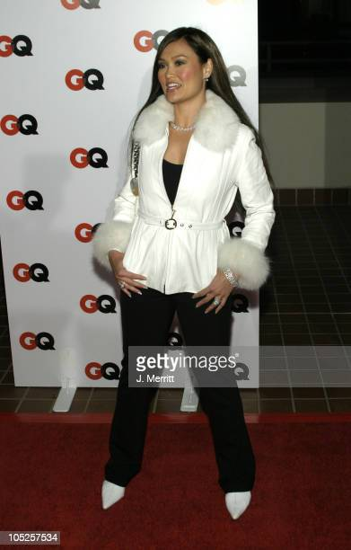 Tia Carrere during GQ Magazine Hosts 2004 NBA All Star Game Party at Astra West in Los Angeles California United States