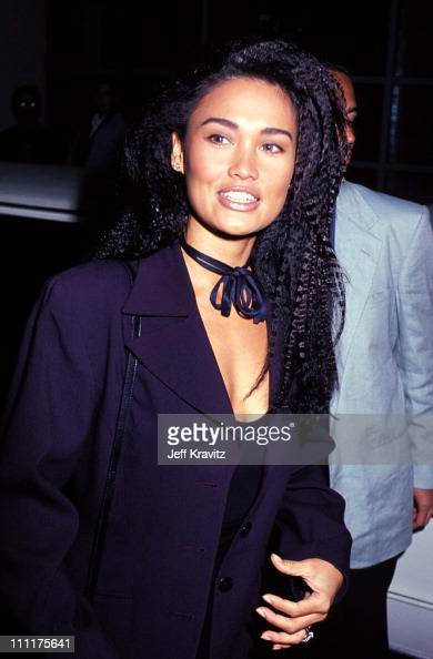Tia Carrere during Opening of Club Shelter in Pasadena California United States