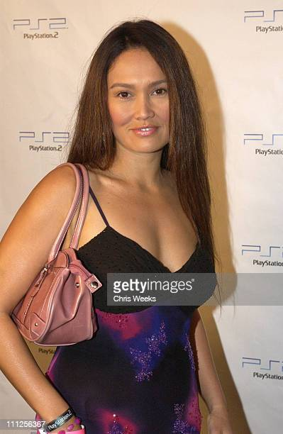 Tia Carrere during Playstation 2 Launches Concert Series Jet and The Vines Live at Avalon in Hollywood at Avalon in Hollywood California United States