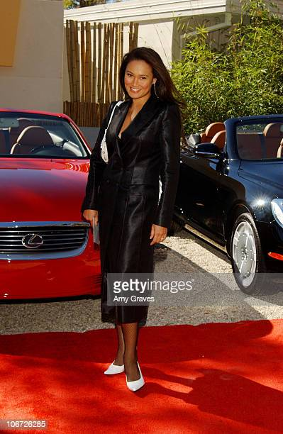 Tia Carrere during Step Up Women's Network and Lexus Presents Fashion Forward Featuring The Burberry Prorsum Spring Summer 2004 Collection at Private...