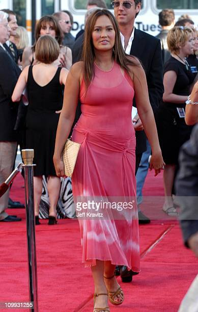 Tia Carrere during Terminator 3 Rise of the Machines World Premiere at Mann Bruin in Los Angeles California United States