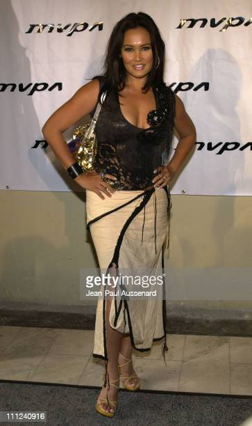 Tia Carrere during The 12th Annual Music Video Production Association Awards at Orpheum Theatre in Los Angeles California United States