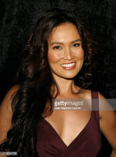 Tia Carrere during The 34th Annual Vision Awards at Beverly Hilton Hotel in Beverly Hills California United States