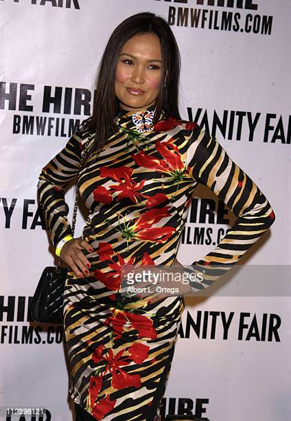 Tia Carrere during 'The Hire' Premiere at ArcLight Cinemas in Hollywood California United States