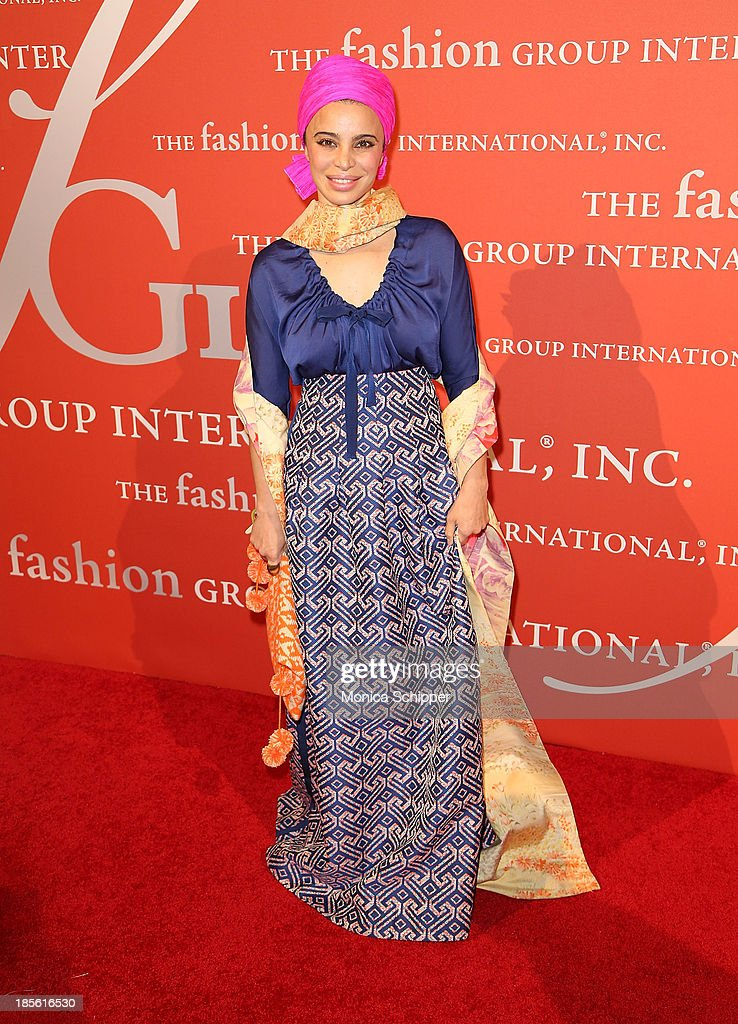 Tia Ciabani attends the 30th annual Fashion Group International Night of Stars on October 22, 2013 in New York City.
