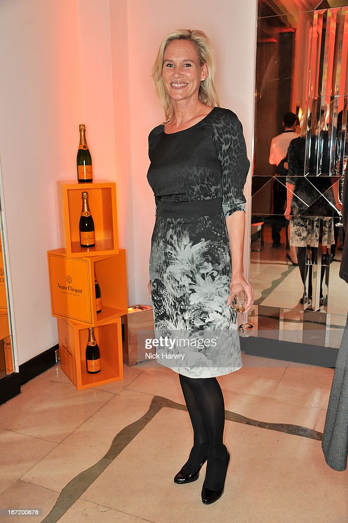 Tia Graham attends the Veuve Clicquot Business Woman of the Year award at Claridges Hotel on April 22, 2013 in London, England.