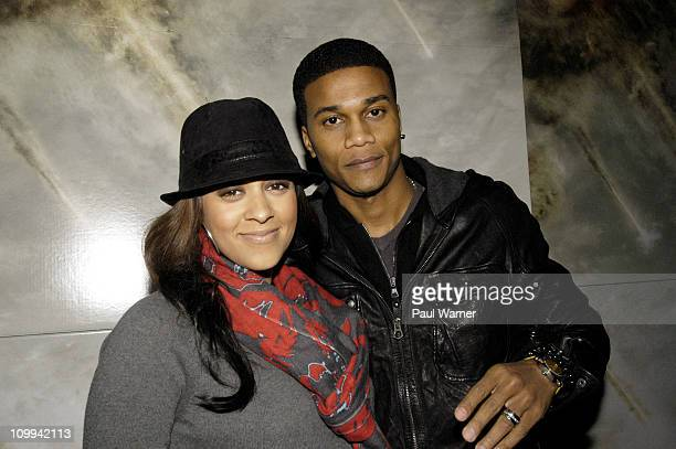 Tia Mowry and Cory Hardrict attend the 'Battle Los Angeles' premiere at Kerasotes Show Case Theaters on March 10 2011 in Chicago Illinois