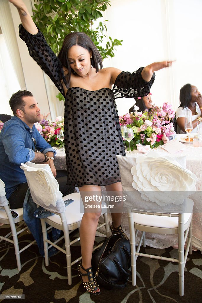 tia mowry attends tamera mowry housley 39 s baby shower at casa del mar