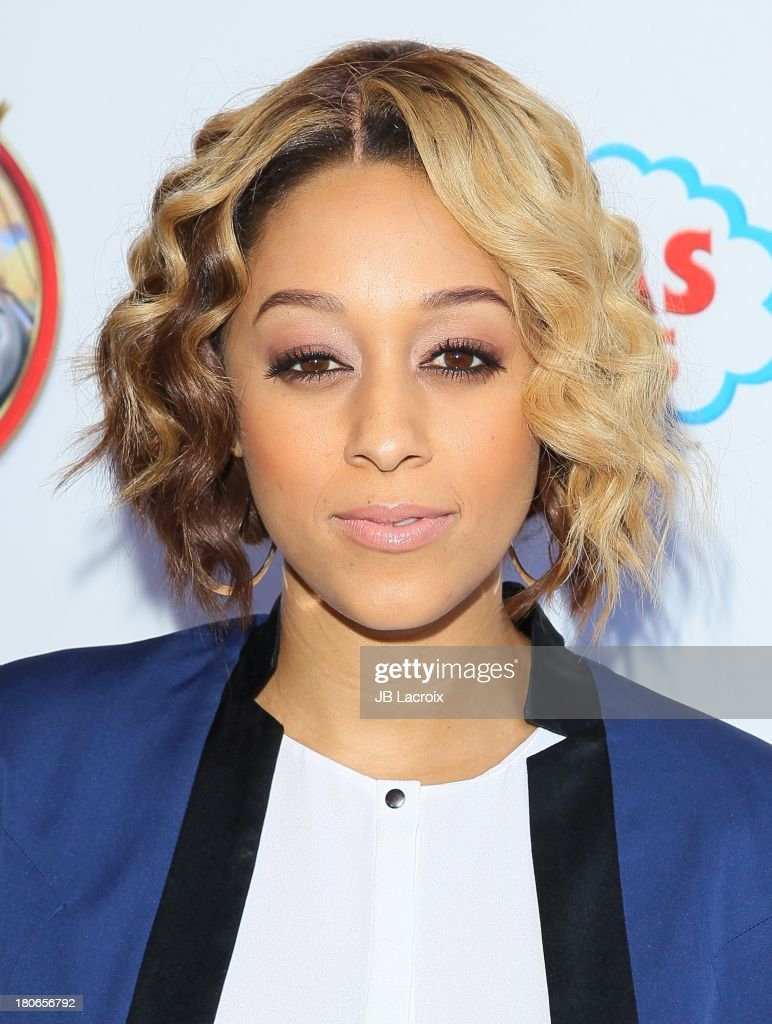<a gi-track='captionPersonalityLinkClicked' href=/galleries/search?phrase=Tia+Mowry&family=editorial&specificpeople=631098 ng-click='$event.stopPropagation()'>Tia Mowry</a> attends the 'Thomas & Friends: King Of The Railway - The Movie' Los Angeles Premiere held at Pacific Theatre at The Grove on September 15, 2013 in Los Angeles, California.