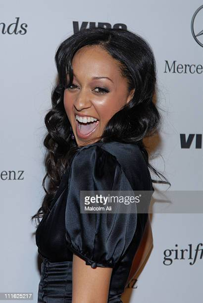 Tia Mowry during Mercedes Benz and Vibe Magazine Honor the Cast and Producers of 'Girlfriends' at The Red Pearl Kitchen in Los Angeles California...