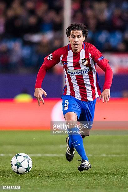 Tiago Cardoso Mendes of Atletico de Madrid in action during their 201617 UEFA Champions League match between Atletico de Madrid and PSV Eindhoven at...