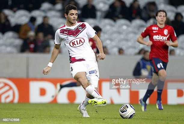 Tiago Ilori of Bordeaux in action during the French League Cup match between Lille OSC and Girondins de Bordeaux at Grand Stade Pierre Mauroy stadium...