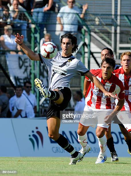 Tiago in action during the friendly match between Juventus and Vicenza at the'Briamasco' stadium on July 21 2009 in Trento Italy
