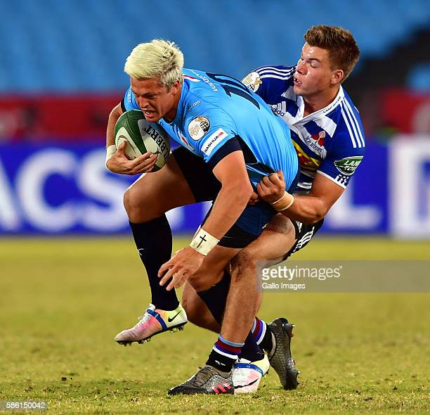 Tian Schoeman of the Blue Bulls during the Currie Cup match between Vodacom Blue Bulls and DHL Western Province at Loftus Versveld on August 05 2016...
